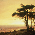 California Coast by Albert Bierstadt