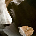 Canyon Sandstone Abstract by Mike Irwin