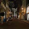 Christmas Eve 2009 On Maiden Lane In San Francisco by Wingsdomain Art and Photography