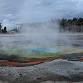Chromatic Pool Yellowstone by Pierre Leclerc Photography