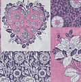 Deco Heart Pink by JQ Licensing
