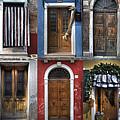 doors and windows of Burano - Venice by Joana Kruse