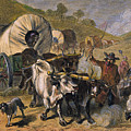 Emigrants To West, 19th C by Granger