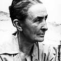 Georgia Okeeffe (1887-1986) by Granger