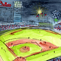Home Of The Philadelphia Phillies by Jeanne Rehrig