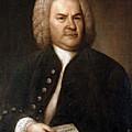 Johann Sebastian Bach, German Baroque by Photo Researchers