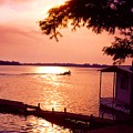 Lake Chicot Sunset by John Foote