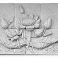 Low Relief Cement Thai Style  by Phalakon Jaisangat