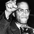 Malcolm X (1925-1965) by Granger