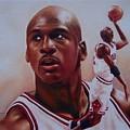 Michael Jordan by Cory McKee