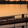 No Swimming Rio Vista Ca by Troy Montemayor