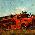 Old Fire Truck by Off The Beaten Path Photography - Andrew Alexander