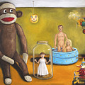 Playroom Nightmare 2 by Leah Saulnier The Painting Maniac