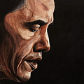 President Barack Obama Portrait by Patty Vicknair