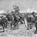 Remington: Cowboys, 1888 by Granger