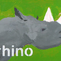 Rhinoceros by Laurie Breen