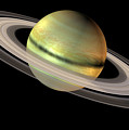 Saturn And Its Rings by Friedrich Saurer