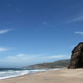 Scott Creek Beach California Usa by Amanda Barcon