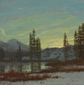 Snow In The Rockies by Albert Bierstadt