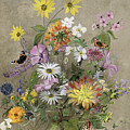 Summer Flowers by John Gubbins