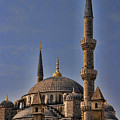The Blue Mosque In Istanbul Turkey by David Smith