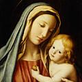 The Madonna And Child by Il Sassoferrato