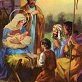The Nativity by Valer Ian