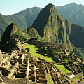 The Ruins Of Machu Picchu, Peru, Latin America by Brian Caissie