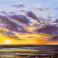 Tropical Sunset by Gina De Gorna