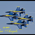 Us Navy Blue Angels Poster by Dustin K Ryan
