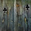 Wooden Door by Bernard Jaubert