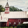 1886 Red Barn by Lisa Russo