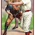 1895 In The Batters Box by Daniel Hagerman
