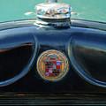 1925 Cadillac Hood Ornament And Emblem by Jill Reger