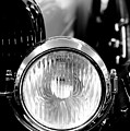 1925 Lincoln Town Car Headlight by Sebastian Musial