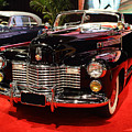 1941 Cadillac Series 62 Convertible Coupe . Front Angle by Wingsdomain Art and Photography