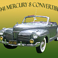 1941 Mercury Eight Convertible by Jack Pumphrey