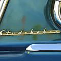 1953 Studebaker Champion Starliner Abstract by Jill Reger