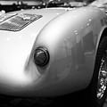 1955 Porsche 550 Rs Spyder . Black And White Photograph . 7d9453 by Wingsdomain Art and Photography