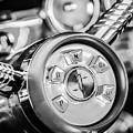 1958 Edsel Ranger Push Button Transmission 2 Print by Jill Reger