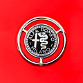 1959 Alfa-romeo Giulietta Sprint Emblem by Jill Reger