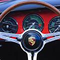 1964 Porsche C Steering Wheel by Jill Reger