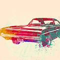 1970 Dodge Charger 1 Print by Naxart Studio