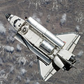 Aerial View Of Space Shuttle Discovery by Stocktrek Images