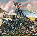 Battle Of Fort Wagner, 1863 by Granger