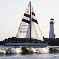 2 Boats Approach by Marilyn Hunt