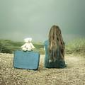 Girl In The Dunes by Joana Kruse