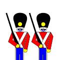 2 Guardsmen by Asbjorn Lonvig