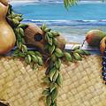 Hawaiian Still Life Panel Print by Sandra Blazel - Printscapes
