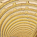 Hotel Atrium In The Jin Mao Tower by Jeremy Woodhouse